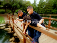 boys on Bridge looking