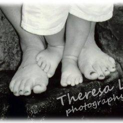 mom and son feet w logo