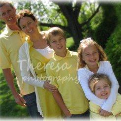 Tom Lacey Family 2012 w Logo
