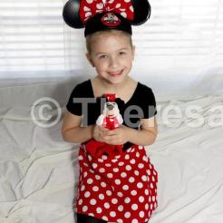 Allison in Mini Mouse costume A