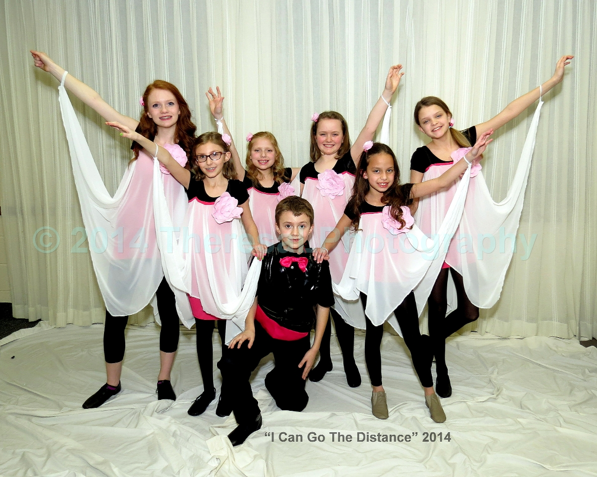 COG Intrmd Lyrical Ballet 2014 Distance